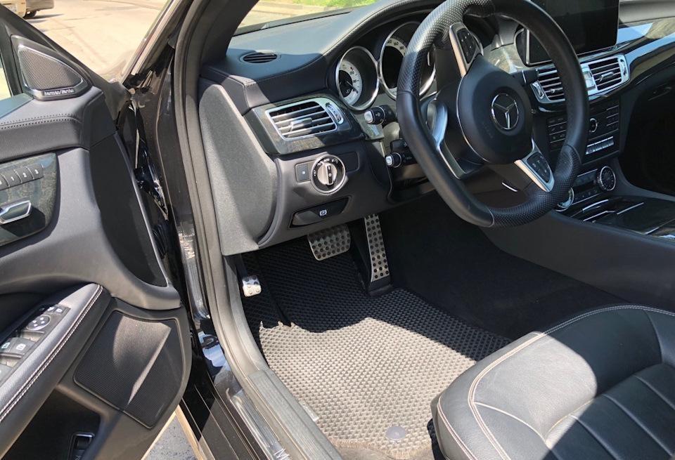 Автоковрики для Mercedes-Benz CLS W218 (2010+) eva коврики от ТМ EvaKovrik