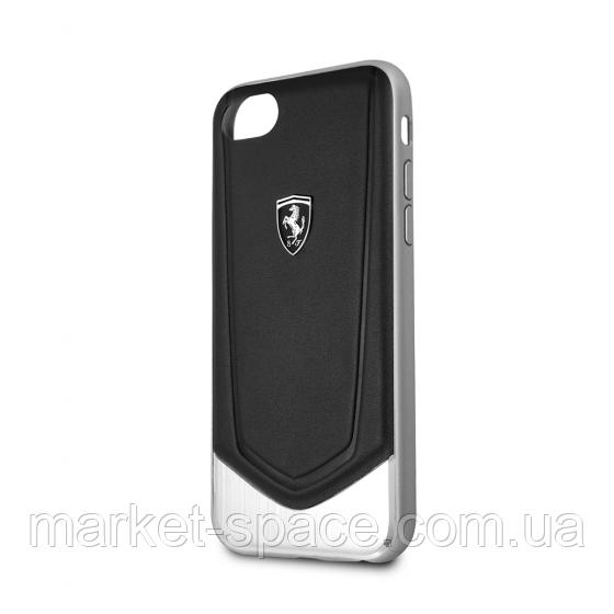 Чехол Ferrari Heritage V Black для iPhone 7/8