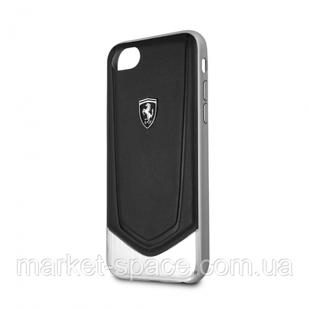 Чехол Ferrari Heritage V Black для iPhone 7/8, фото 2