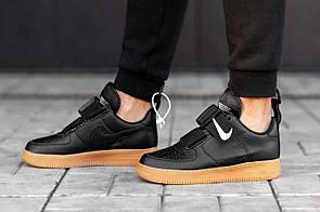 Мужские кожаные кроссовки Nike Air Force