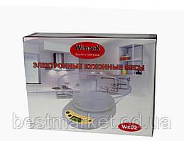 Бытовые весы для кухни WIMPEX WX 02-5kg