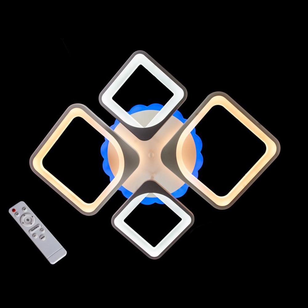 Светодиодная LED люстра СветМира с пультом управления MX3392/2+2WH/LED/Dimmer