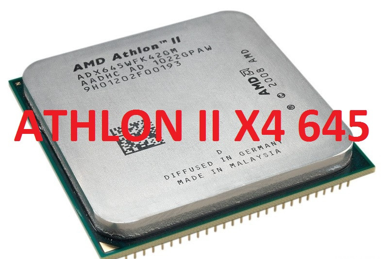 МОЩНЫЙ Процессор AMD SAM3, am2+  ATHLON II X4 645 - 4 ЯДРА  ( 4 по 3.1 Ghz каждое ) am3, SAM2+