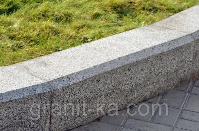 Гранітний бордюр тротуарний ГП4