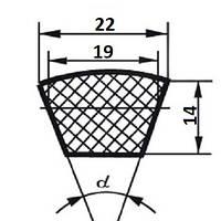 Ремень клиновой  С (В)-1120