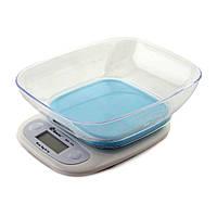 Электронные кухонные весы с чашей на 7 кг Domotec MХ-403