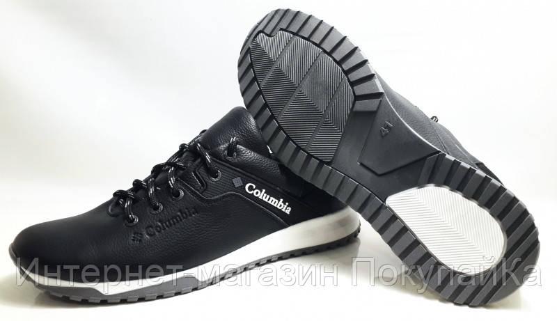 c4628193 ... Мужские Осень-Весна Кожаные кроссовки спорт туфли в стиле Columbia  (model-20) ...