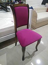 """стул деревянный """"малиновый велюр"""""""