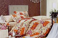 Комплект полуторного сатинового постельного белья ТМ Queensilk 1927