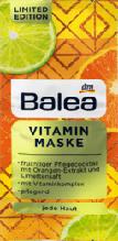 Маска для обличчя вітамінна Balea Vitamin Maske LE