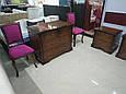 """стул деревянный """"малиновый велюр"""", фото 3"""