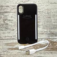 Селфи чехол LuMee Duo с передней и задней подсветкой на iPhone X / XS / XS Max