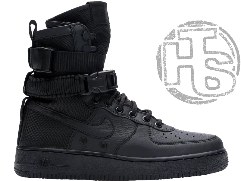 1cfd290ab31 Мужские кроссовки Nike Special Field Air Force 1 High Triple Black  864024-003