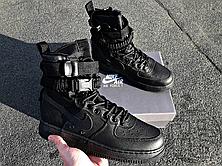 Мужские кроссовки Nike Special Field Air Force 1 High Triple Black 864024-003, фото 3