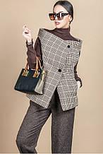 Двухсторонний женский жилет 42 -48 пальтовая ткань и х\б