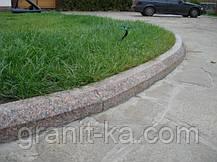 Садовый бордюр гранитный ГП4, фото 3
