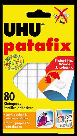 Клеящие подушечки UHU PATAFIX 80 шт. UHU 39125, фото 2