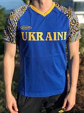 Чоловіча футболка Bosco Sport ua синя з Україною попереду Італія🇮🇹 L XL XXL XXXL