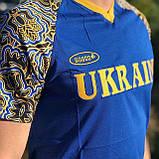 Мужская футболка Bosco Sport ua  синяя c Украиной впереди   Италия🇮🇹 S М L XL XXL XXXL, фото 2