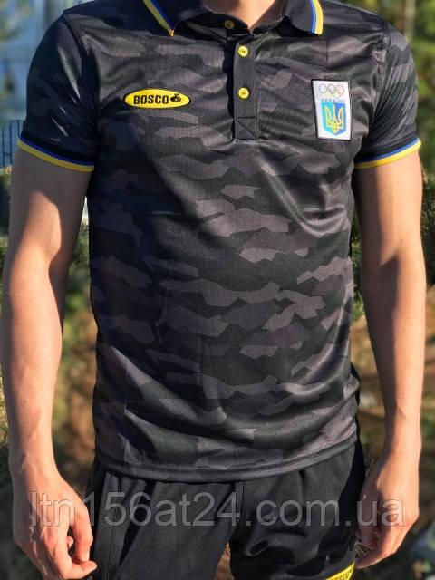Футболки Bosco Sport UA  поло камуфляж лимитированная коллекция S M L XL XXL XXXL