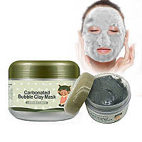 Кислородная маска для лица bioaqua carbonated bubble clay mask