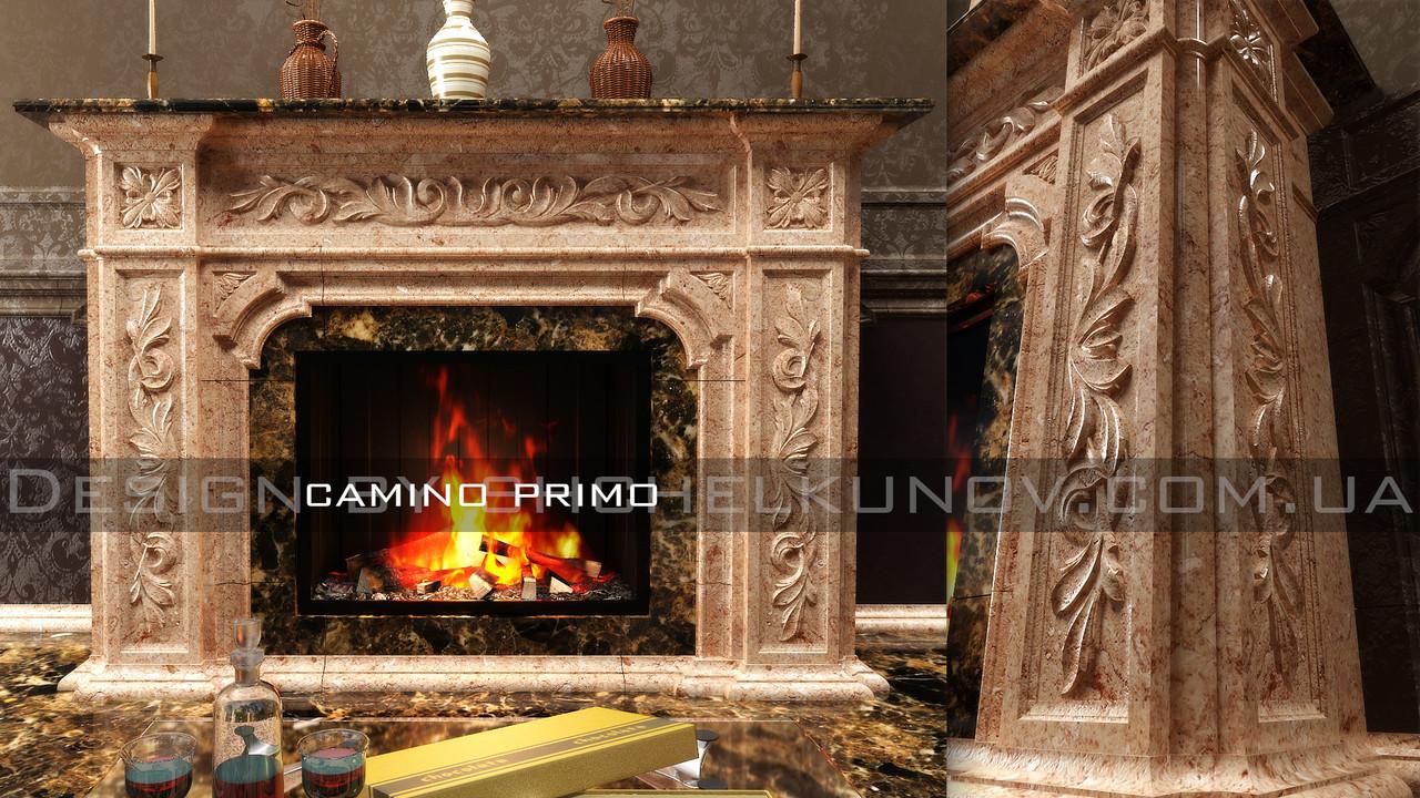 Мраморный портал камина Primo