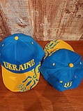 Кепки  Bosco Sport UA  голубой верх желтый  козрек, фото 6