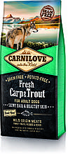 Carnilove CARP & TROUT FRESH 12kg  корм для собак КАРП и ФОРЕЛЬ