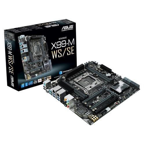 "Материнская плата Asus X99-M WS/SE s.2011-3 DDR4 ""Over-Stock"" Б/У"