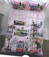 Комплект двуспального евро постельного белья ТМ Casabel 60121443