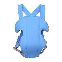 Сумка-кенгуру SUNROZ YEBD-2 Baby Carrier рюкзак для переноски ребенка ГолубойSUN0981, КОД: 146375