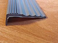 Самоклеющаяся противоскользящая накладка на ступень (Черная), фото 1