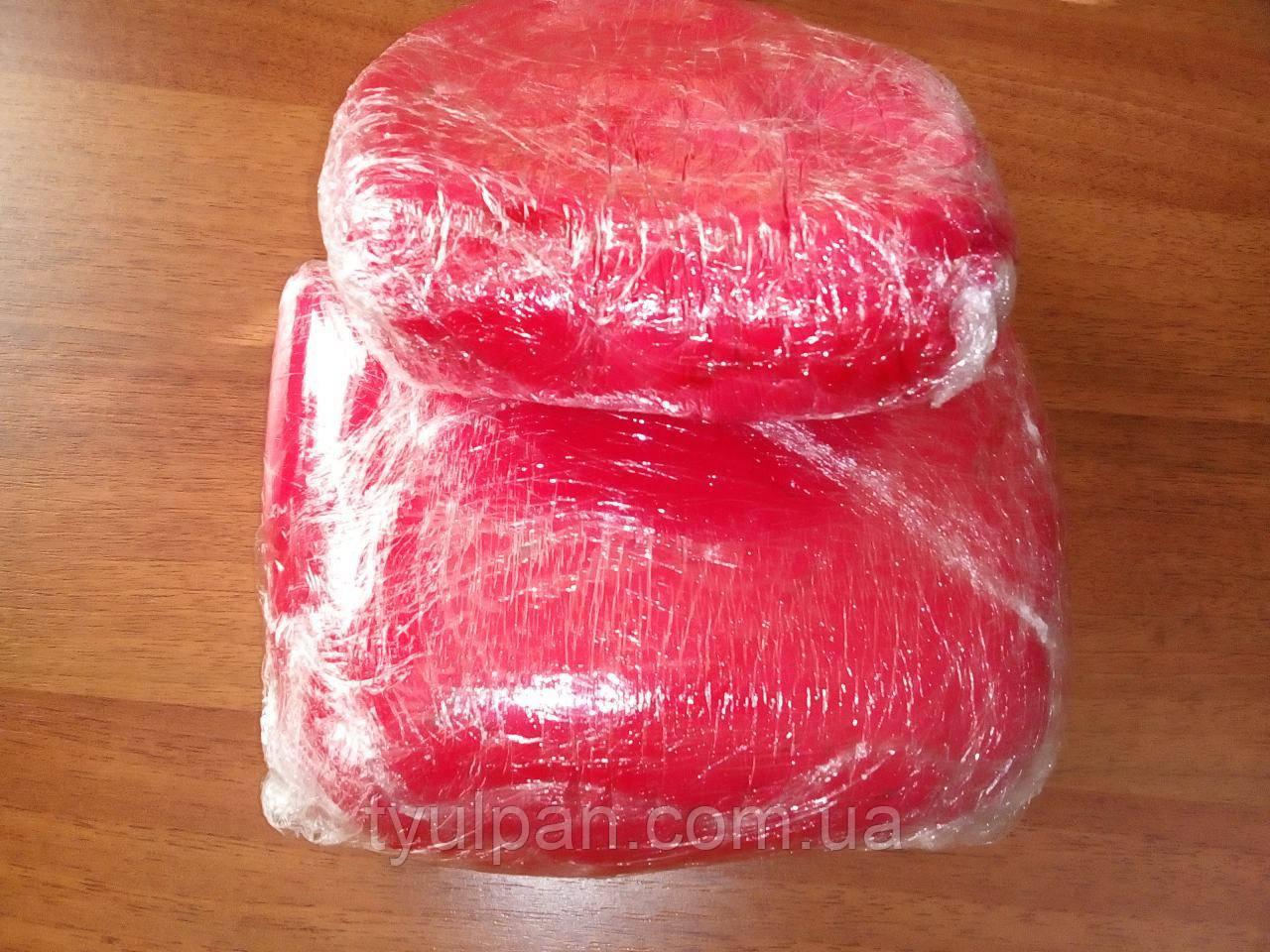 Мастика кондитерская ярко красная  лепка обтяжка фасовка 100 г