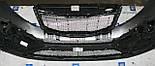 Декоративно-защитная сетка радиатора Kia Sportage 2010-  фальшрадиаторная решетка, бампер, фото 3