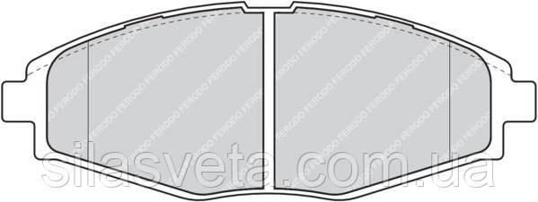 Колодки тормозные передние LPR (LANOS)