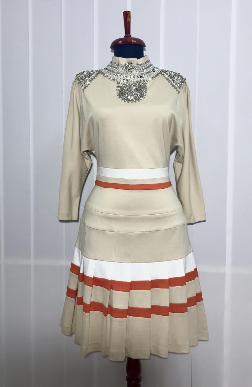 Платье с камнями Swarovski бренд LUX копия