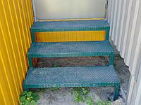 Лестница металлическая на 3 ступени, фото 1