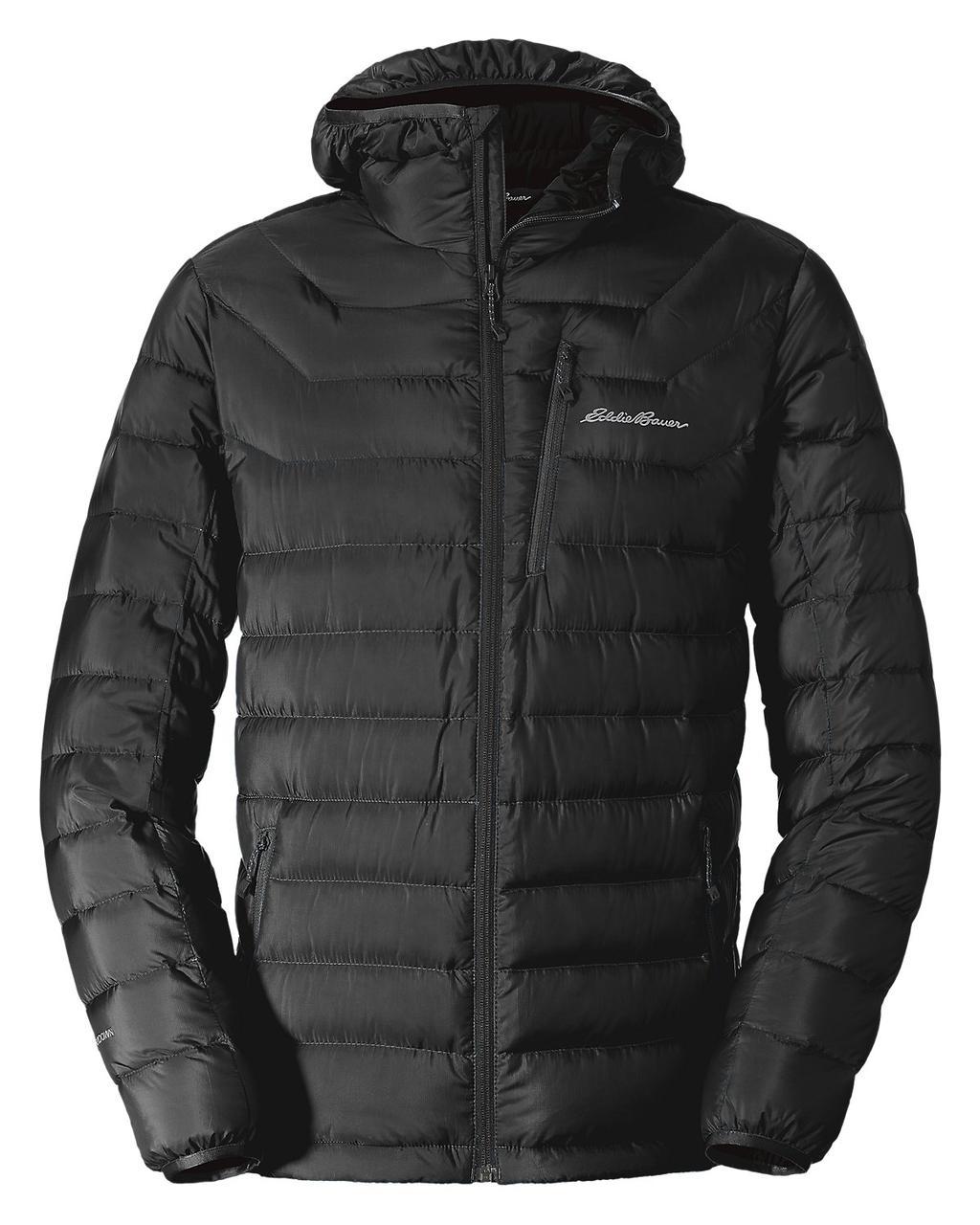 Куртка Eddie Bauer Mens Downlight Stormdown hooded jacket M