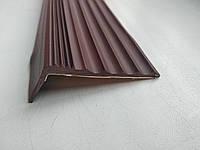 Самоклеющаяся накладка на ступень (Коричневая)