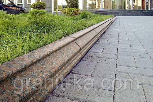 Бордюри для тротуарної плитки