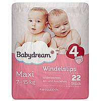 Трусики Babydream р.4 (7-15 кг.)  22 шт.