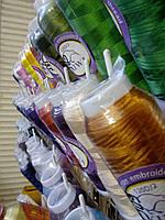 Нитки вискоза для машинной вышивки Киви (3000 ярдов)120d2 Kiwi, фото 1