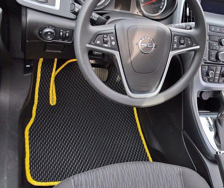 Автоковрики для Opel Astra J GTC (2011-2014) eva коврики от ТМ EvaKovrik