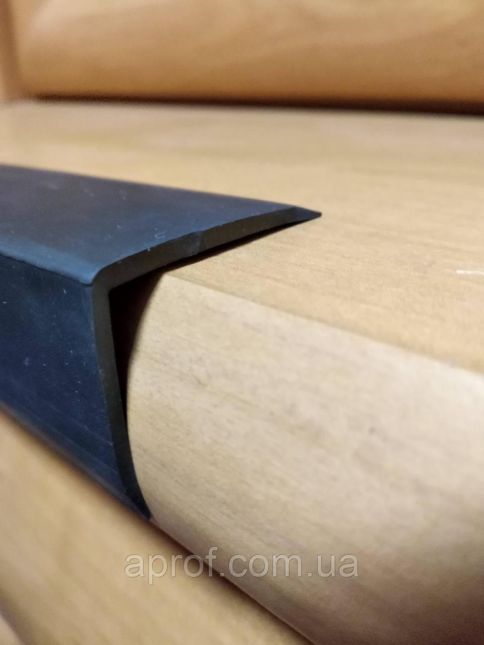 Резиновый уголок, гладкий (40х30х2 мм)