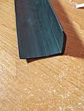 Резиновый уголок, гладкий (40х30х2 мм), фото 3