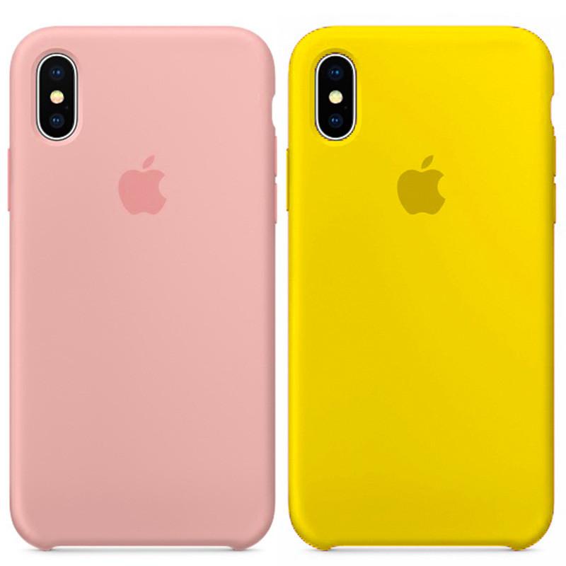 Силиконовый чехол на Айфон Silicone Case На Любой iPhone 5   6   6 Plus   7    7 Plus   8   X   XS   XR  XS Max b80425fca0bbf