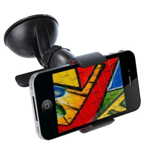 Универсальный автомобильный держатель для телефона на присоске «Reptile» с функцией поворота на 360 градусов