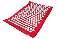 Массажный коврик Onhillsport Релакс аппликатор Кузнецова 55 х 40 см Красный (MS-1251-4)