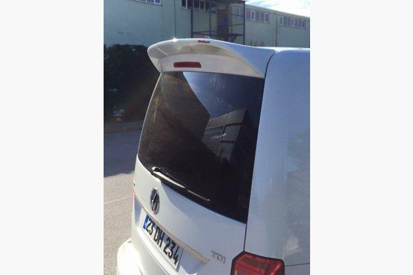 Спойлер (под покраску) Volkswagen Caddy 2015↗ гг.