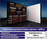 Светодиодное спортивное табло универсальное водное поло LED-ART-Sport-1000х1000-1586